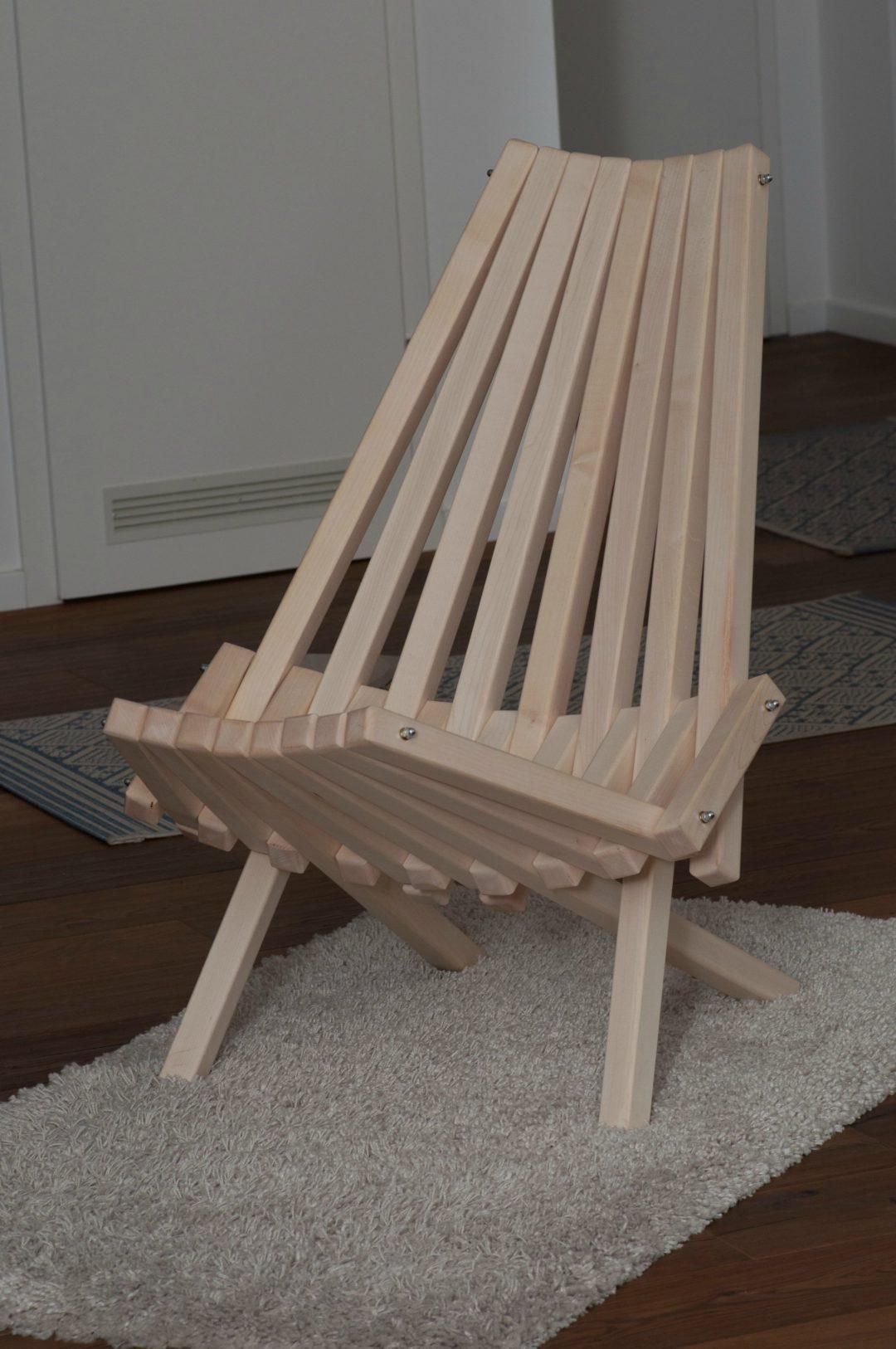 Stuhl aus Ahorn